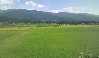 JR飯山線の車窓風景②