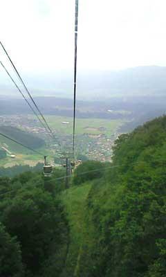 長坂ゴンドラからの風景