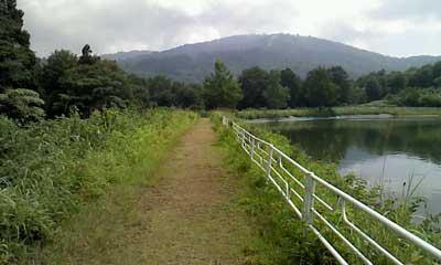 巣鷹湖遊歩道